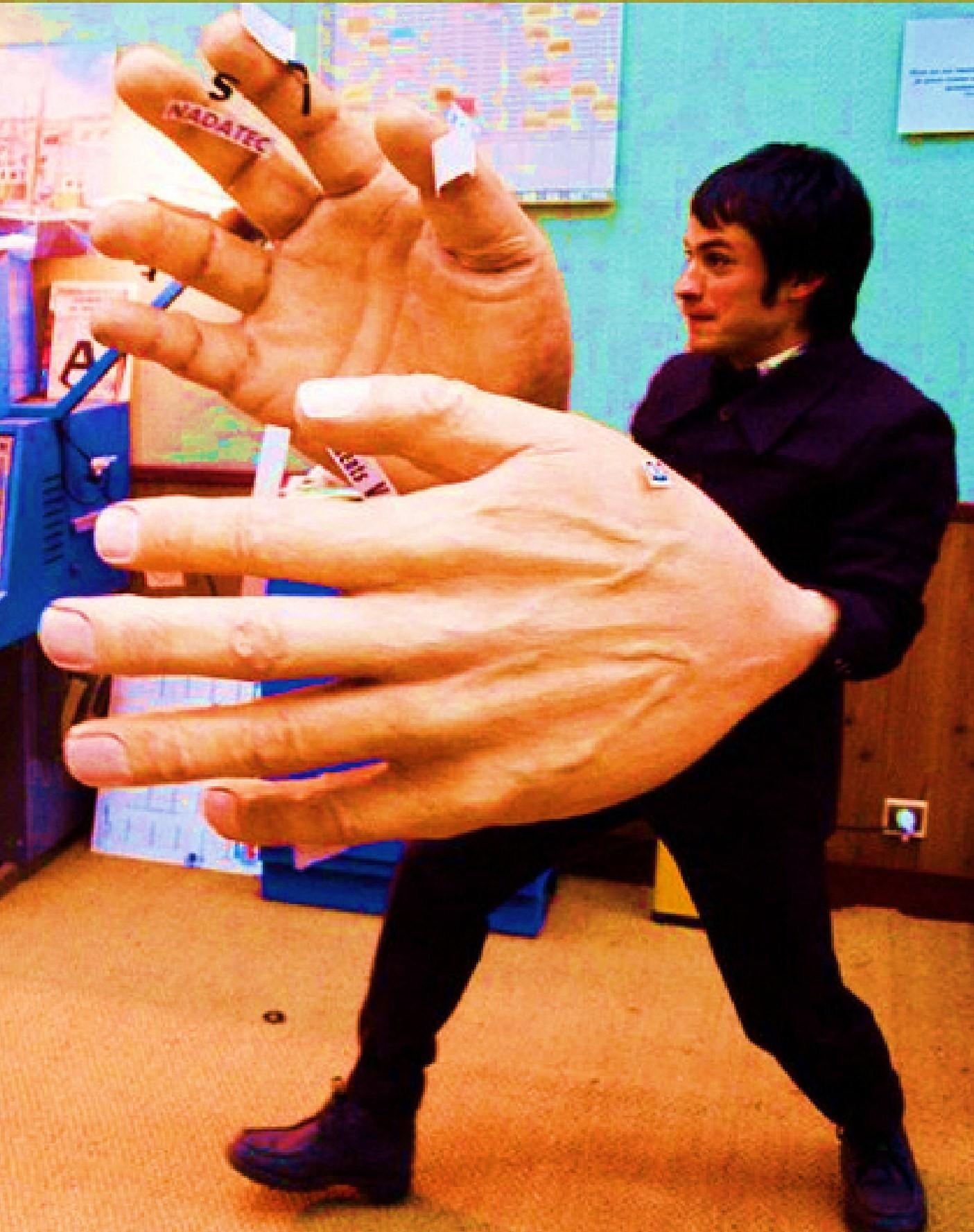 Biggest Hands